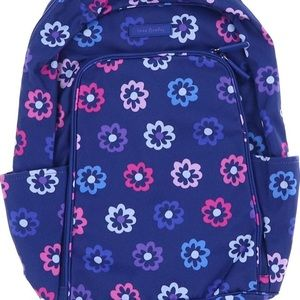 Vera Bradley Laptop Backpack Ellie Flowers